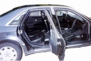Бронированный автомобиль Ауди A8